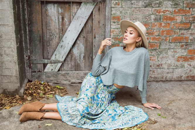 High Tea Maxi Skirt - Sanctum 3
