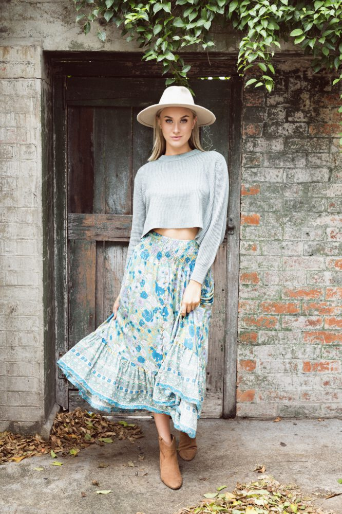High Tea Maxi Skirt - Sanctum