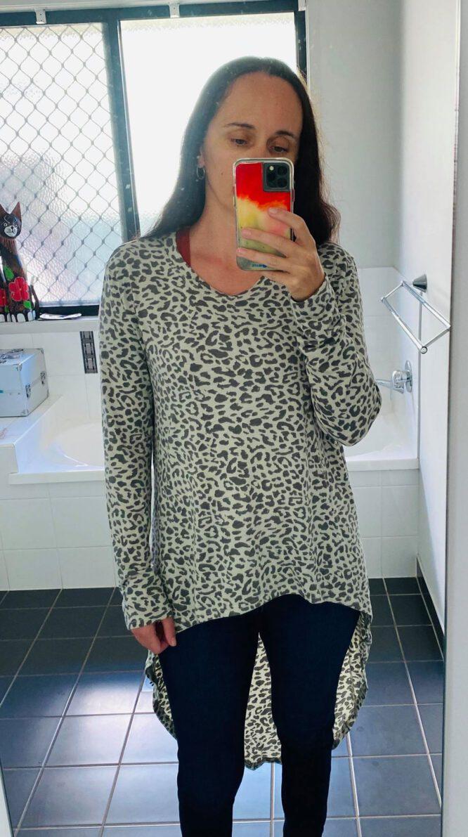 Leopard Lover long Tee - Refuge