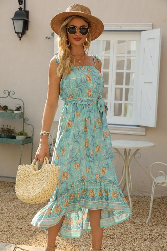 Calliope Floral Dress front
