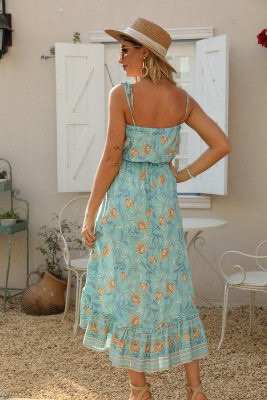 Calliope Floral Dress back