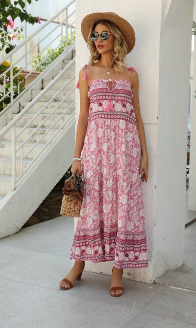 Kelsey Fandango Dress - Pink Diamond 1