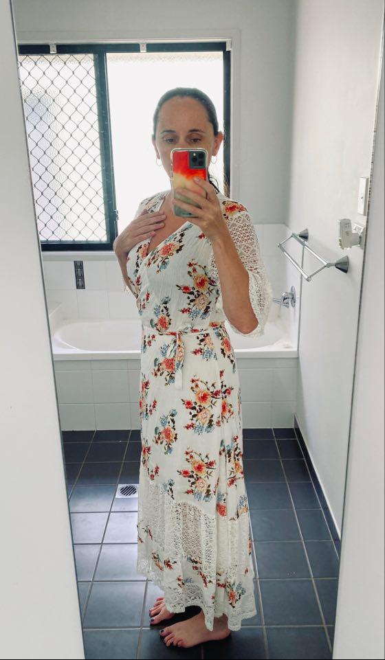 Bella Bella Wrap Maxi Dress - Loraine Designs