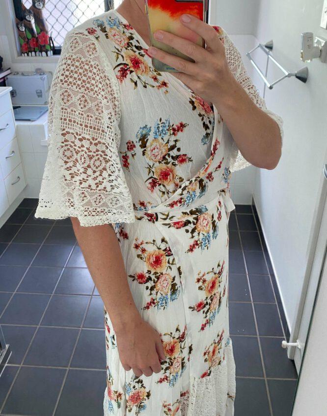 Bella Bella Wrap Maxi Dress - Loraine Designs 2