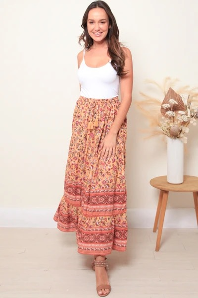 Sanda Maxi Skirt - Dreamcatcher