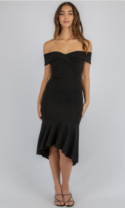 Zenobia Off The Shoulder Dress