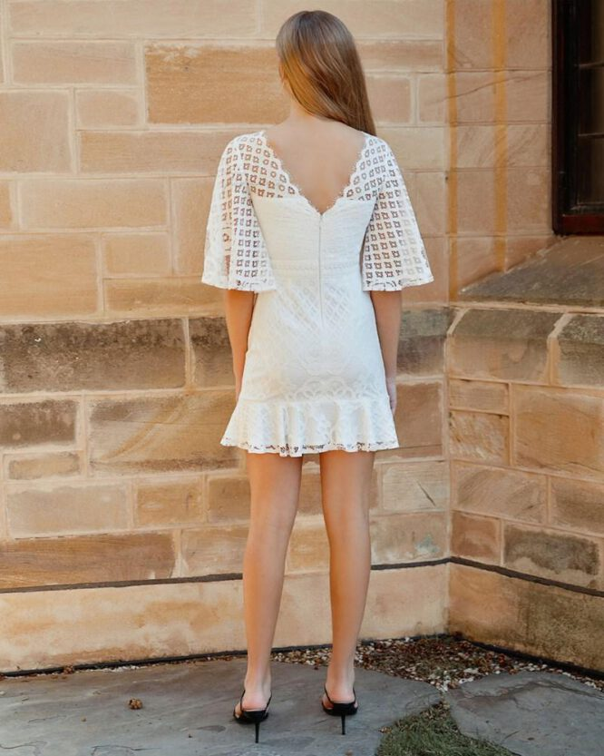 Rey Dress White - Two Sisters The Label