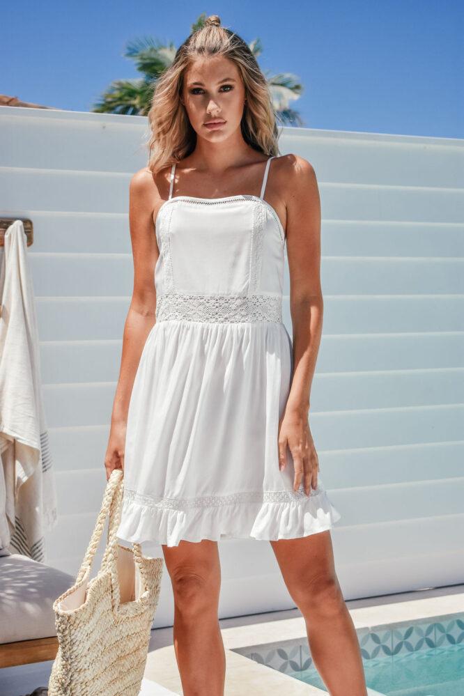 Charity Dress White - Sanctum