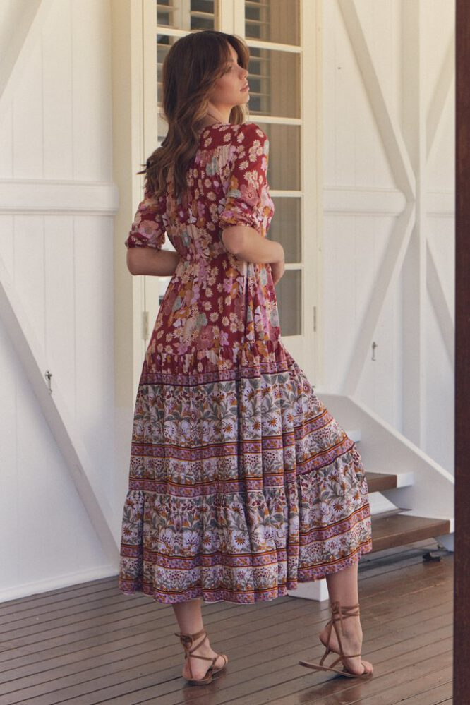 Flower Child Tessa Maxi Dress - Jaase