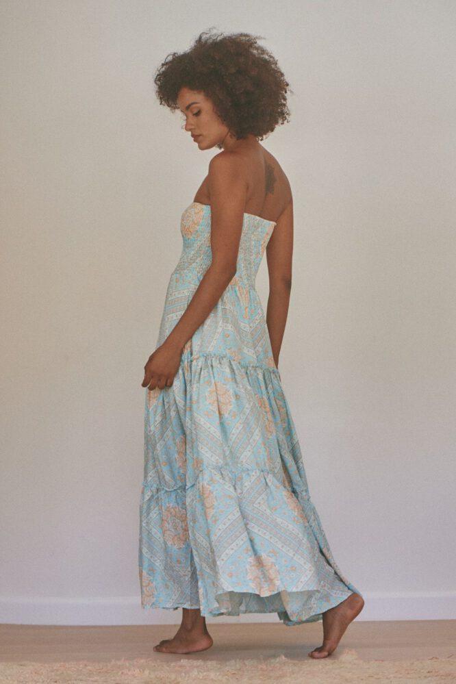 Seaside Print Salsa Maxi Dress - Jaase
