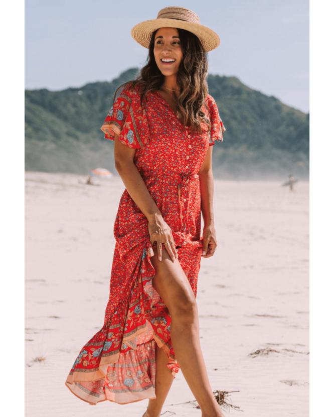 Maya Maxi Dress - San Jose The Label