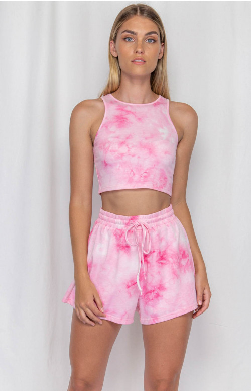 Asha Tie Dye Set Pink- Winnie & Co