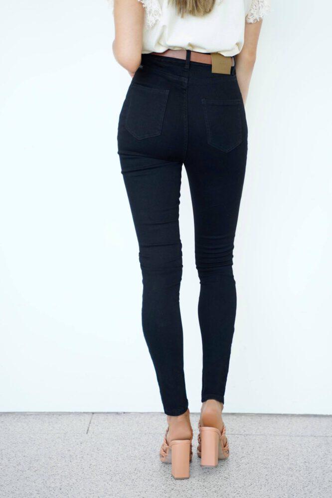 Ulrich Black Stretch Skinny Jeans - Refuge