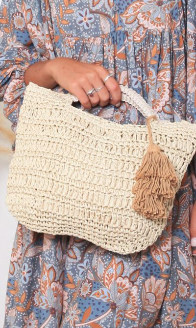 Babylon Rattan Bag - Natural