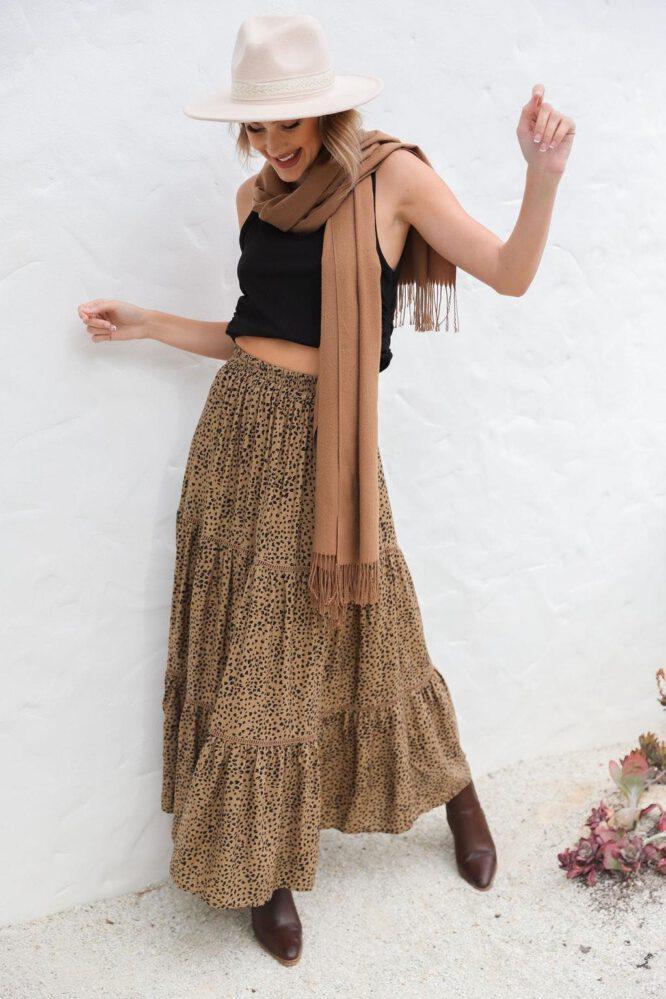Ibitha Skirt - Sanctum