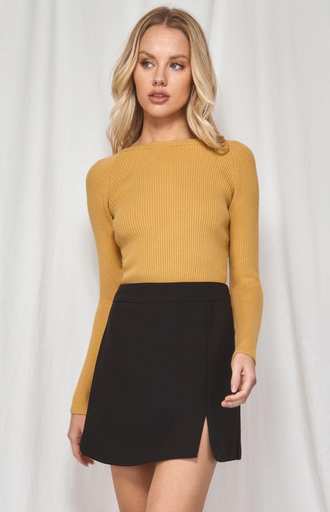 Mayfair Twist Back Knit