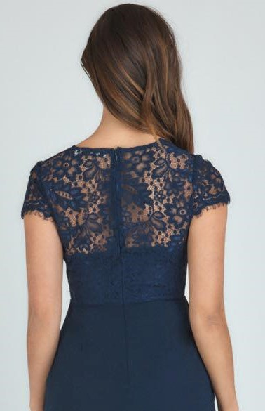 Martini Lace Top Cocktail Dress - Style State