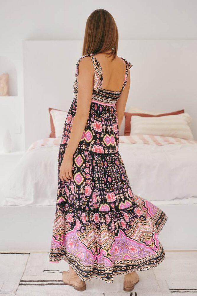Jaase Adeline Maxi Dress - Cherry Blossom